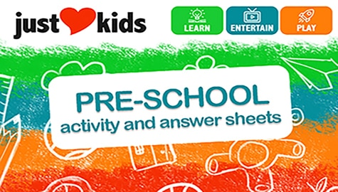 Pre-School Activity Sheets