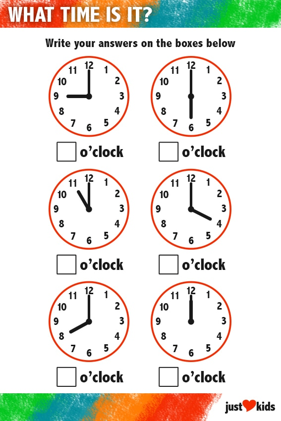 What Time Is It? | Primary Activity Sheet