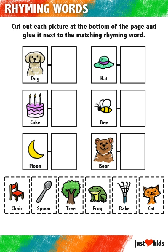Rhyming Words | Primary Activity Sheet