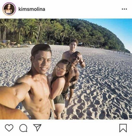 "IN PHOTOS: Kim Molina with her real-life ""pogi"" boyfriend"