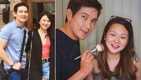 Richard Yap with his lovely unica hija