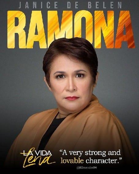 Janice De Belen bilang RAMONA sa La Vida Lena