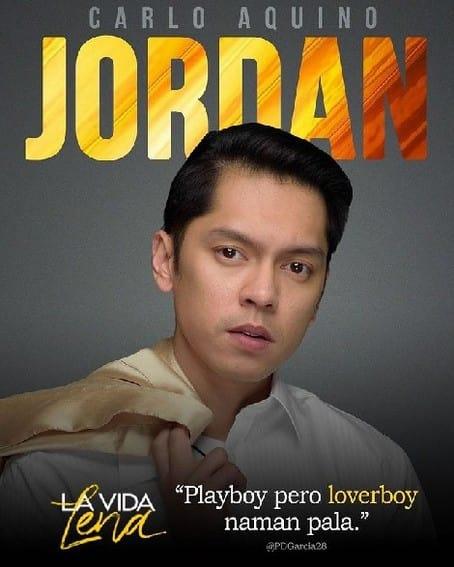 Kilalanin si Carlo Aquino bilang JORDAN sa La Vida Lena