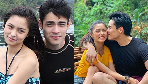 Kilig Photos of Kim and Xian