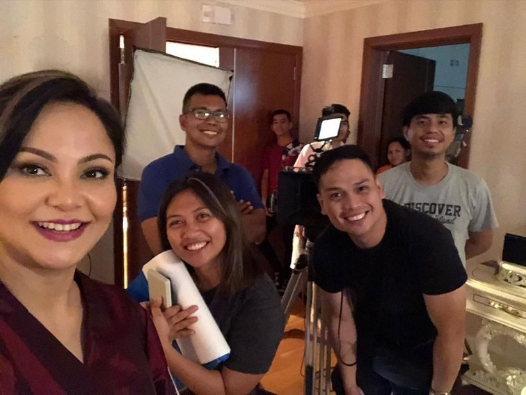 Love Thy Woman behind the scenes photos