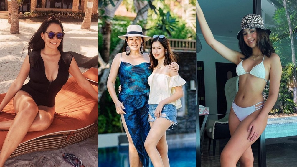 Like mother, like daughter! Ruffa Gutierrez with her equally sexy panganay