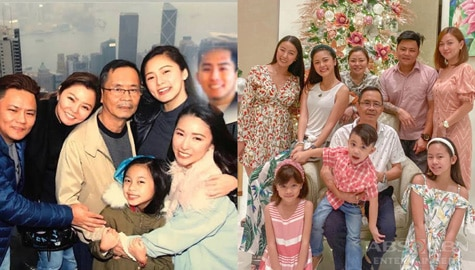 Kim Chiu with her picture-perfect family