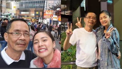 LOOK: Kim Chiu's proud moments with her Papa
