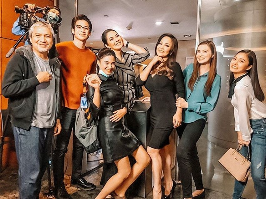 LOOK: Love Thy Woman cast's playful, precious moments behind the scenes