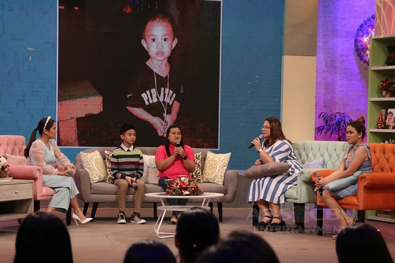PHOTOS: Magandang Buhay with The Voice Kids Top 3 young artists