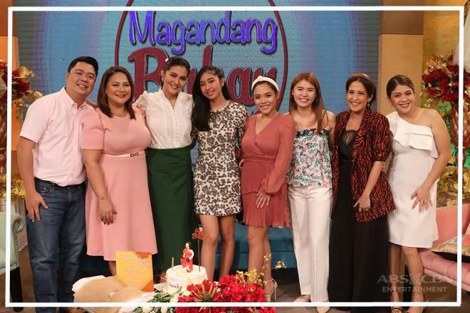 PHOTOS: Dimples Romana's birthday celebration on Magandang Buhay