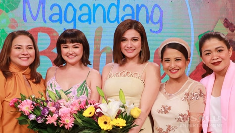 Magandang Buhay with Bea and Angelica