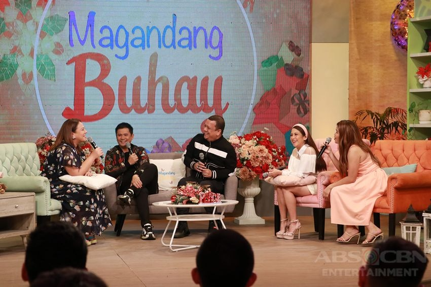 PHOTOS: Magandang Buhay with Lou & Andre, Desiree & Boom and Ogie Alcasid