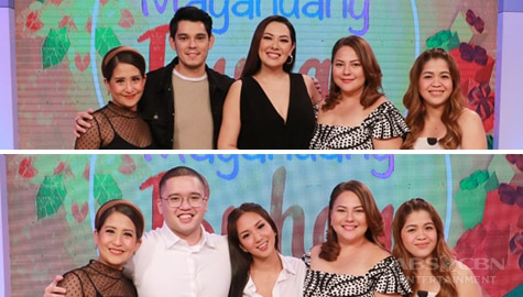 PHOTOS: Magandang Buhay with Richard & Ruffa Gutierrez and Roxanne & Timmy Barcelo