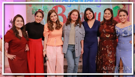 PHOTOS: Magandang Buhay with Andi Eigenmann, Say Alonzo and Sitti Navarro-Ramirez