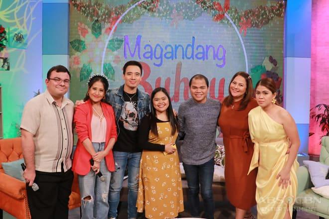 PHOTOS: Magandang Buhay with Erik Santos, Pooh & Alora Sasam