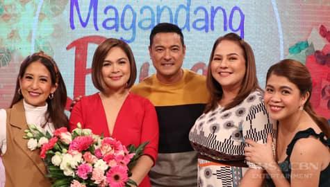 PHOTOS: Magandang Buhay with Judy Ann Santos