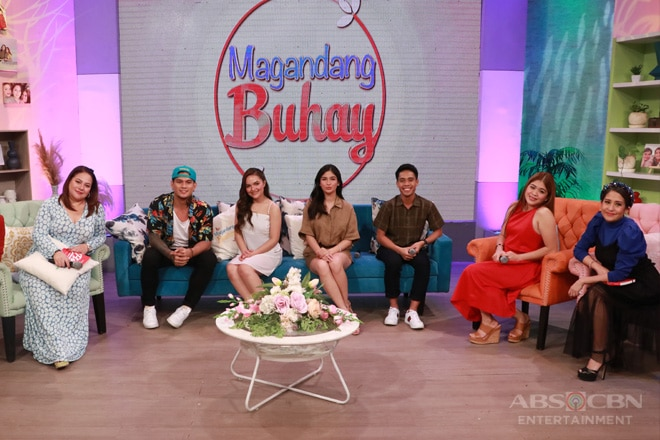 PHOTOS: Magandang Buhay with Zeus, Stephen, Heaven and Yamyam