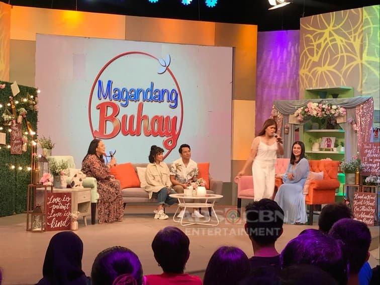 Miko, Kaira, KZ and TJ on Magandang Buhay