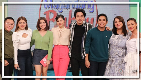 PHOTOS: Magandang Buhay with Alexa Ilacad, Janella Salvador, Joshua Garcia and Neil Coleta