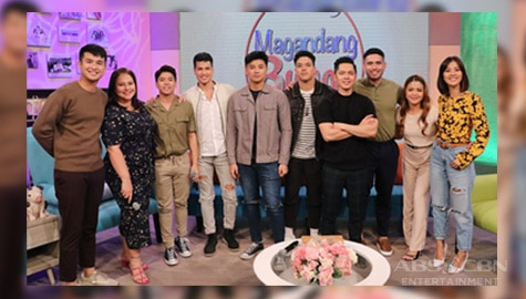PHOTOS: Magandang Buhay with the cast of A Soldier's Heart