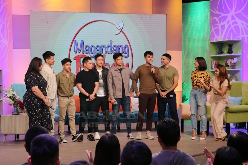 Magandang Buhay with the cast of A Soldier's Heart