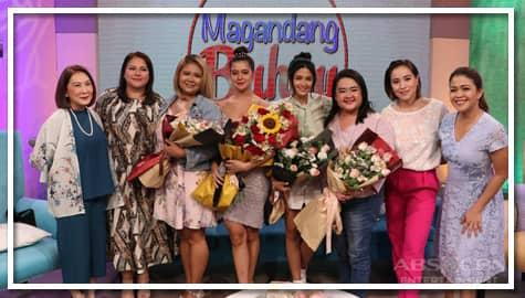 PHOTOS: Magandang Buhay with Yam Concepcion & Sue Ramirez