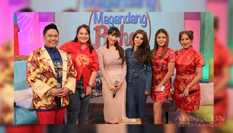 PHOTOS: Magandang Buhay with Ina Raymundo and Nathalie Hart