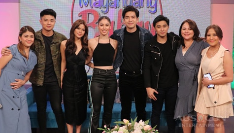 PHOTOS: Magandang Buhay with Joshua, Julia, Maris, McCoy & Yves