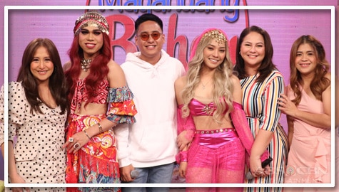 PHOTOS: Magandang Buhay with Genie-nga, Genie-pon and Matthaios