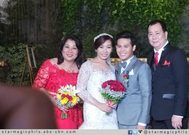 Marcelito Pomoy Wife