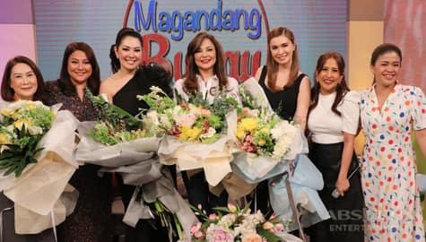 Magandang Buhay Eula Valdez, Ruffa Gutierrez & Sunshine Cruz