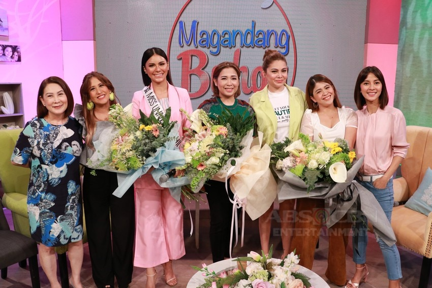 Magandang Buhay with Ms. Universe Philippines 2019 Gazini Ganados, Cong. Sol Aragones and K Brosas