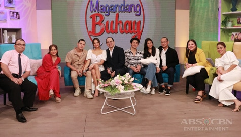 PHOTOS: Magandang Buhay with Jake Cuenca, Kylie Verzosa & LouDre