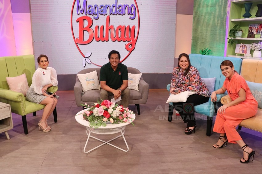 PHOTOS: Magandang Buhay with the cast of Pamilya Ko