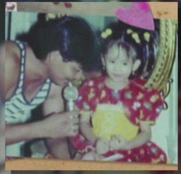 Sarah Geronimo first love father