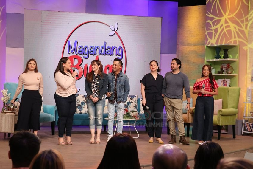 LOOK: Jessa Zaragoza and Dingdong Avanzado & Zharine and Cris Villanueva on Magandang Buhay