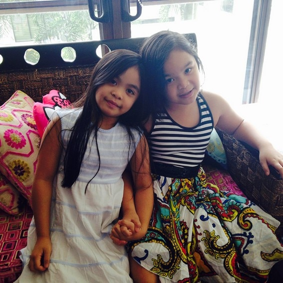 Queenie Princess Pacquiao Jimuel lovable sisters