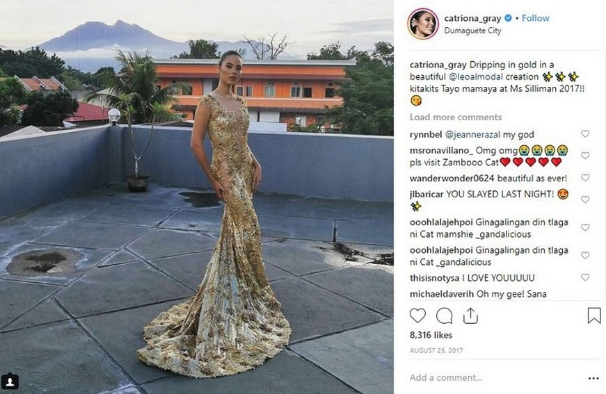 Catriona Gray that conquered the Universe
