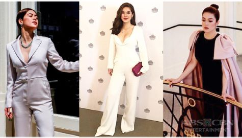 Shaina Magdayao slayed Pinoy-made outfits in France