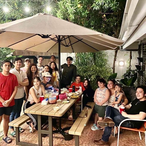 Daniel Padilla  birthday celebration at home