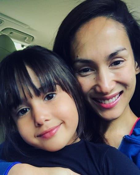 Ina Raymundo daughters son