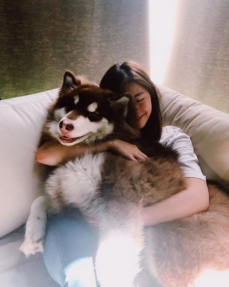 Janella Salvador's stress relievers