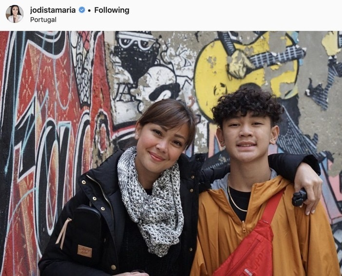 LOOK: 28 Photos of Jodi Sta. Maria with her son Thirdy