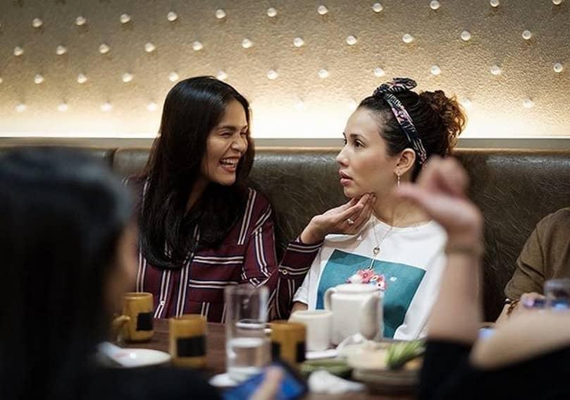Sunshine friendship with Karylle Iza Diana