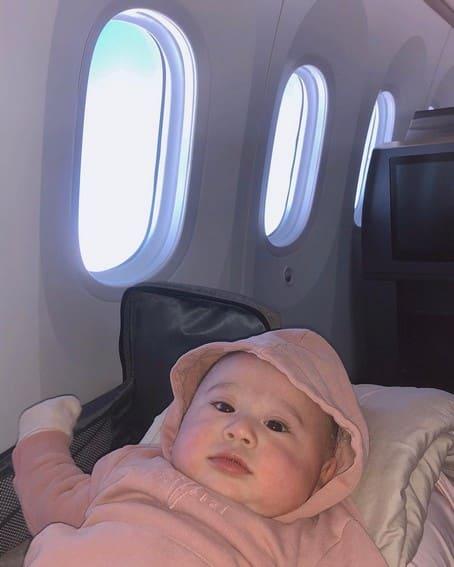 janella markus baby jude photos