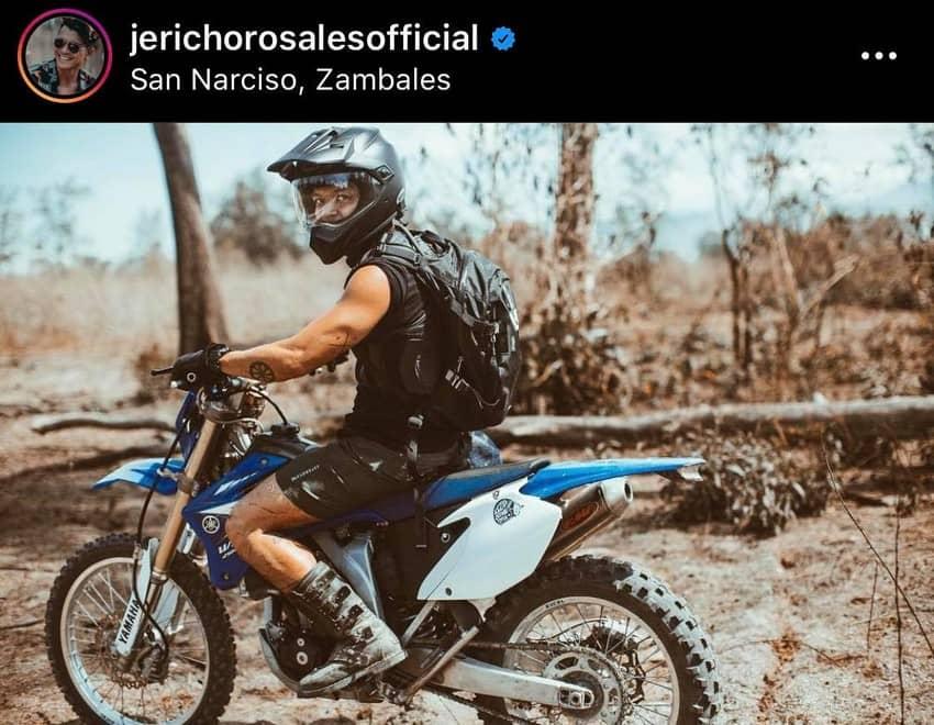 Magpahanggang wakas lino Jericho rosales rider motor