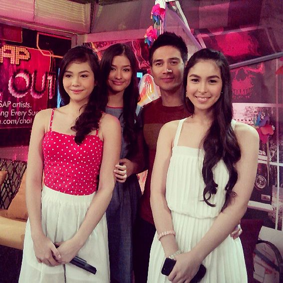 Liza, Julia, Michelle and Janella friends