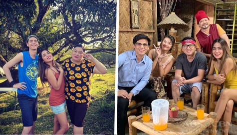 Off-cam bonding moments of Make It With You cast