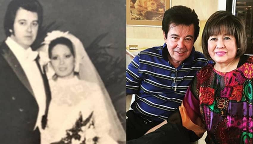 Eddie Gutierrez Annabelle Rama Couple Photos